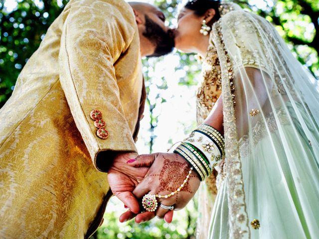 Le nozze di Nilesh e Nipa