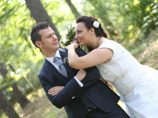 Le nozze di Pamela e Marcello