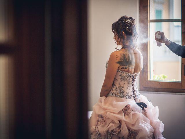 Il matrimonio di Martina e Adriano a San Miniato, Pisa 12
