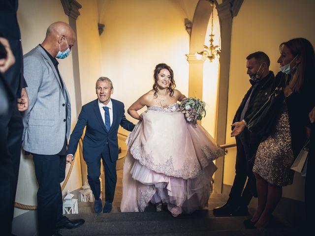 Il matrimonio di Martina e Adriano a San Miniato, Pisa 16