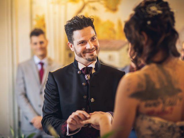 Il matrimonio di Martina e Adriano a San Miniato, Pisa 18