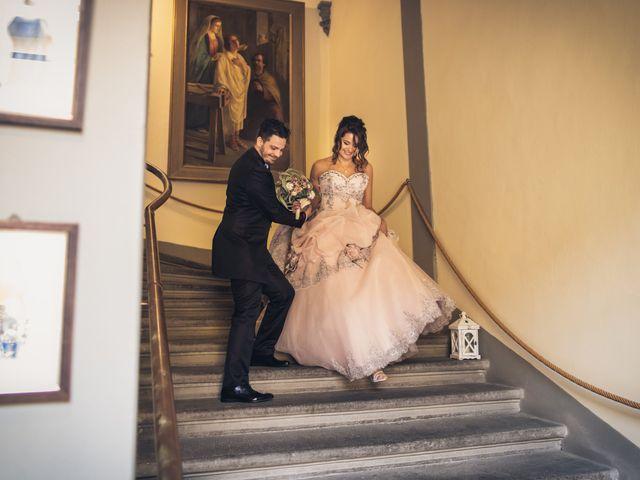 Il matrimonio di Martina e Adriano a San Miniato, Pisa 20