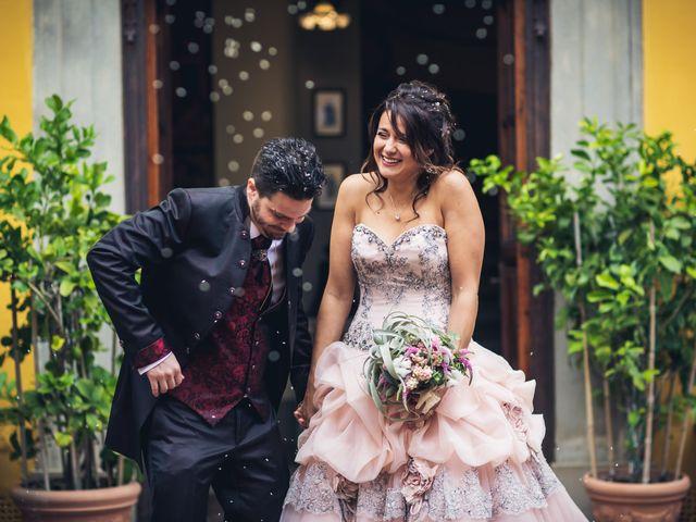 Il matrimonio di Martina e Adriano a San Miniato, Pisa 21