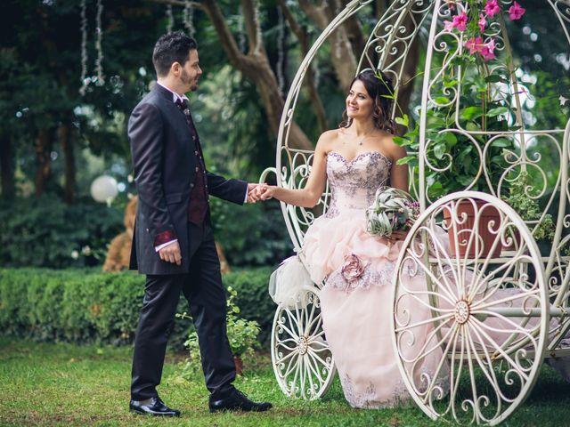 Il matrimonio di Martina e Adriano a San Miniato, Pisa 23