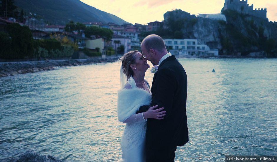 Il matrimonio di Mycol e Thaira a Malcesine, Verona