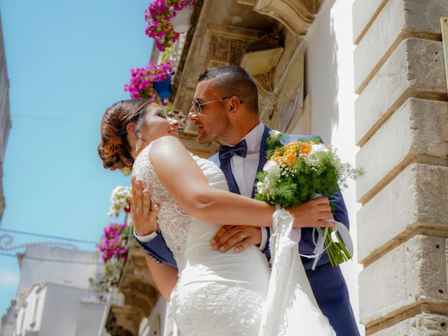 Il matrimonio di Pierangelo e Valentina a San Michele Salentino, Brindisi 23