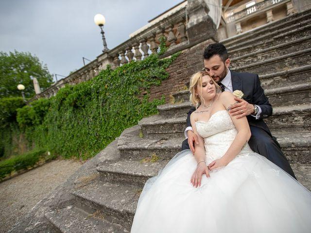 Il matrimonio di Roberto e Vanessa a Ospitaletto, Brescia 153