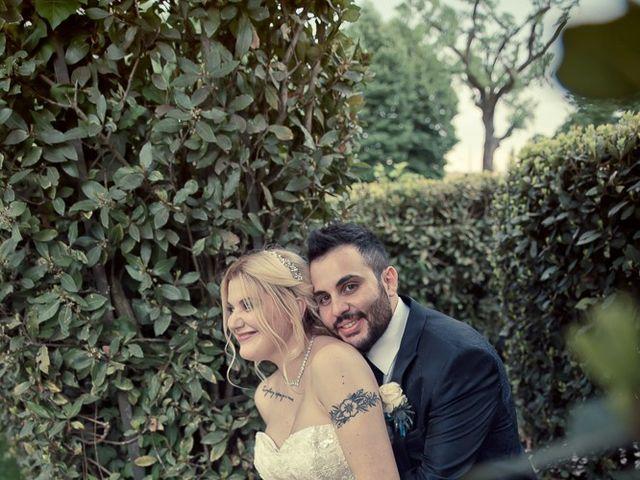 Il matrimonio di Roberto e Vanessa a Ospitaletto, Brescia 181