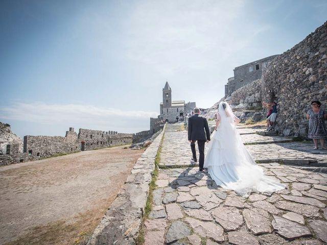 Il matrimonio di Stefano e Nancy a Portovenere, La Spezia 1