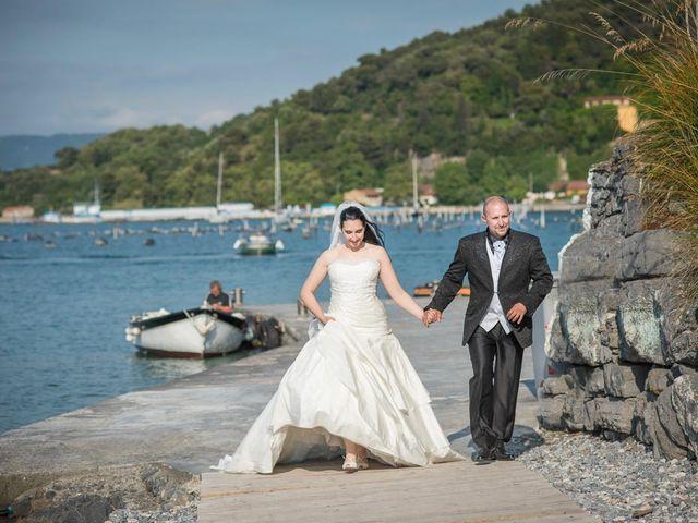 Il matrimonio di Stefano e Nancy a Portovenere, La Spezia 5