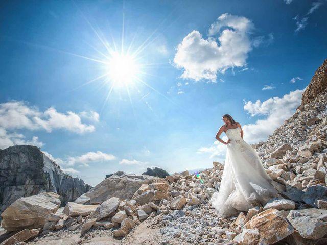 Il matrimonio di Manuel e Veronica a Carrara, Massa Carrara 18