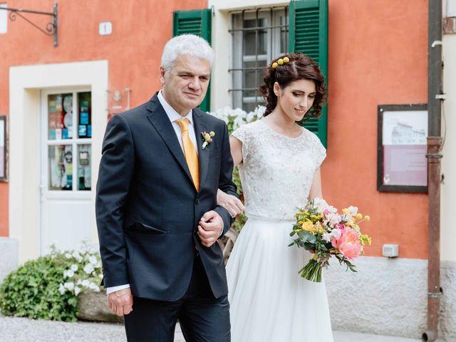 Il matrimonio di Paolo e Martina a Besate, Milano 30