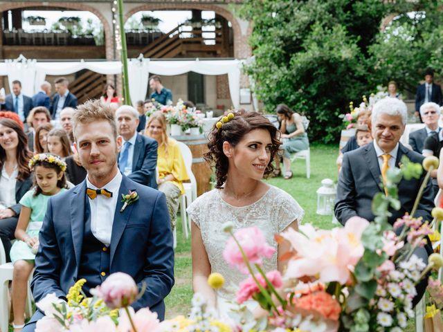Il matrimonio di Paolo e Martina a Besate, Milano 32