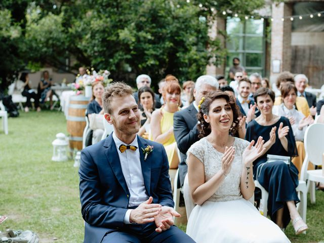Il matrimonio di Paolo e Martina a Besate, Milano 35