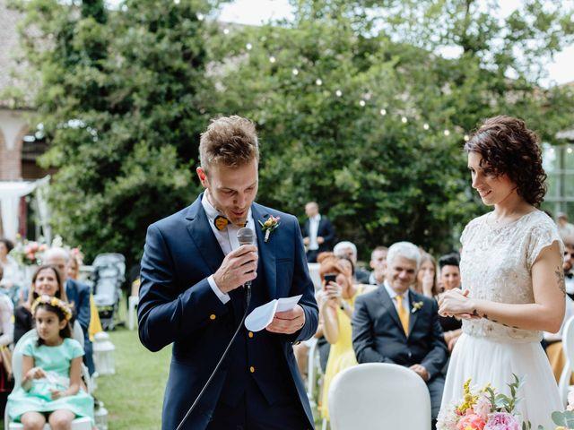Il matrimonio di Paolo e Martina a Besate, Milano 36