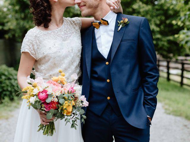 Il matrimonio di Paolo e Martina a Besate, Milano 51