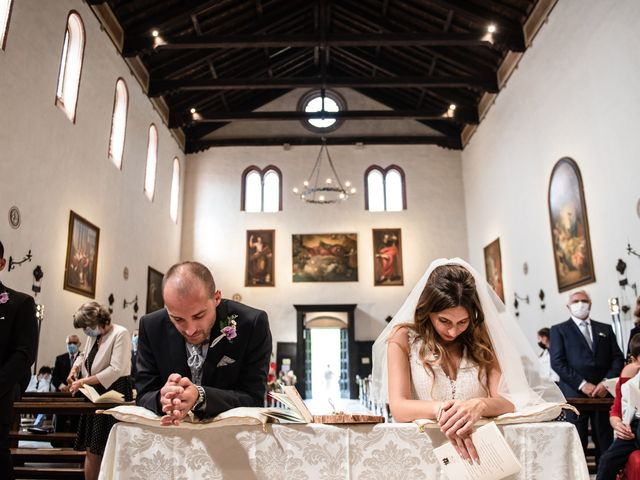 Il matrimonio di Alessandro e Alessandra a Monselice, Padova 47