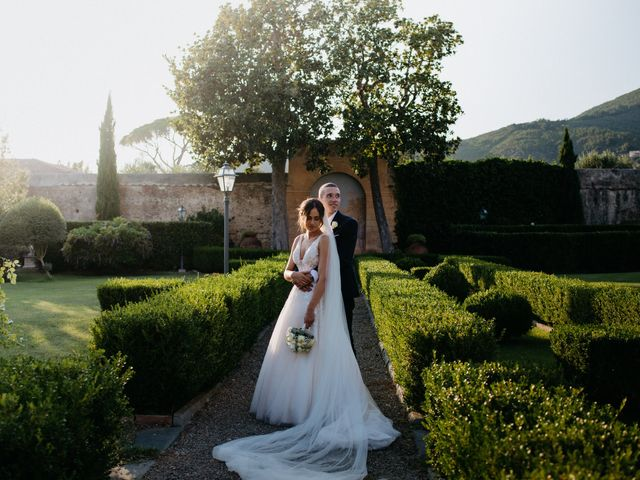Il matrimonio di Simone e Caterina a Calci, Pisa 47