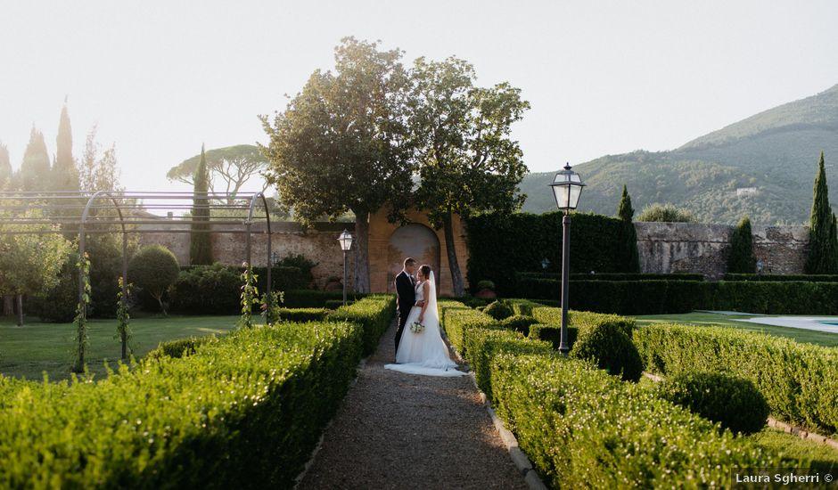 Il matrimonio di Simone e Caterina a Calci, Pisa