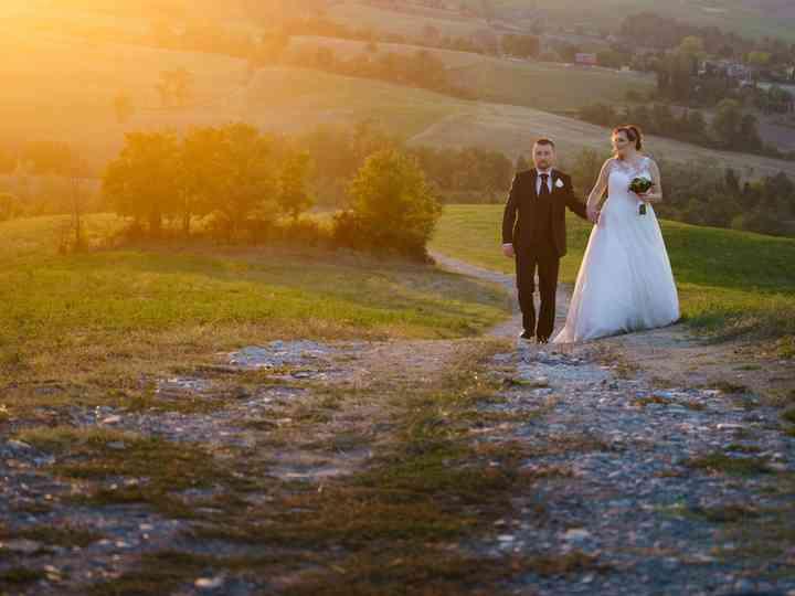 le nozze di Cinzia e Alfonso