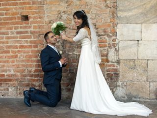 Le nozze di Sara e Gianluca