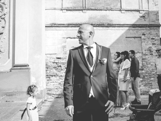 Il matrimonio di Luca e Silvia a Drizzona, Cremona 13