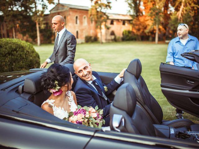 Il matrimonio di Luca e Silvia a Drizzona, Cremona 21