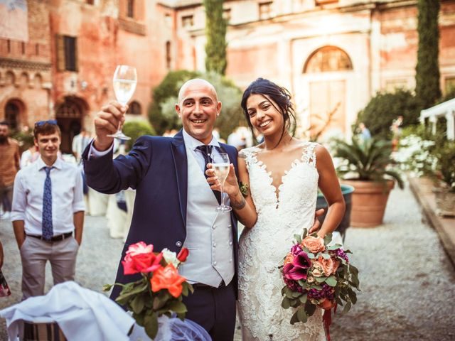 Il matrimonio di Luca e Silvia a Drizzona, Cremona 23