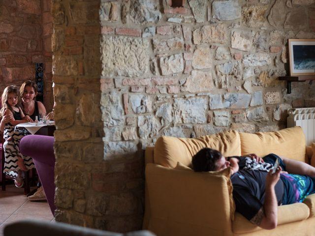 Il matrimonio di James e Alainna a Radicondoli, Siena 4