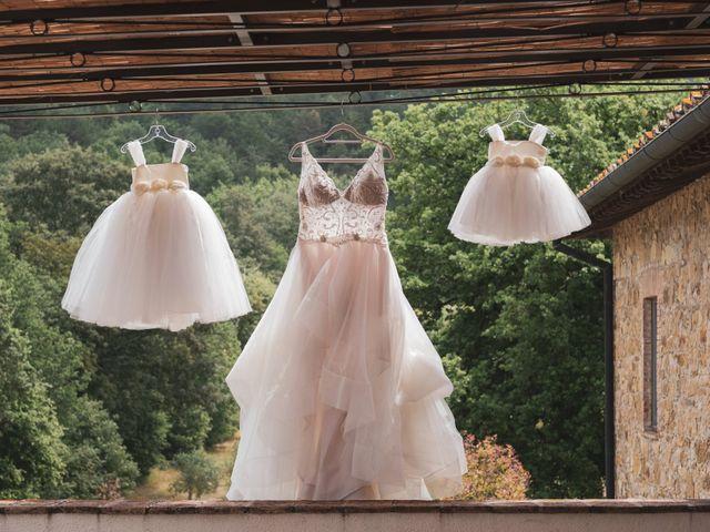 Il matrimonio di James e Alainna a Radicondoli, Siena 1
