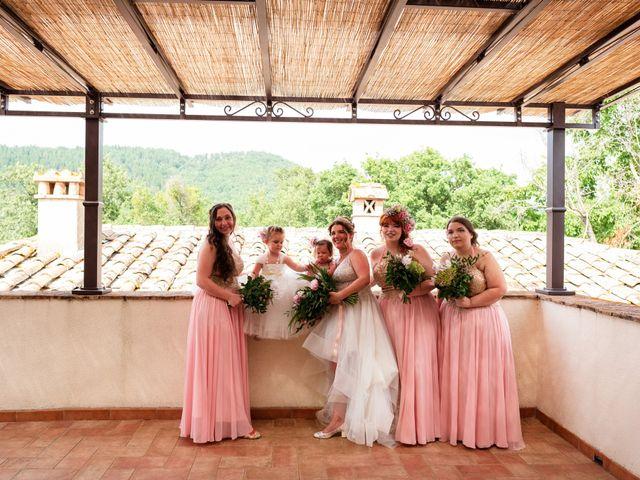 Il matrimonio di James e Alainna a Radicondoli, Siena 8