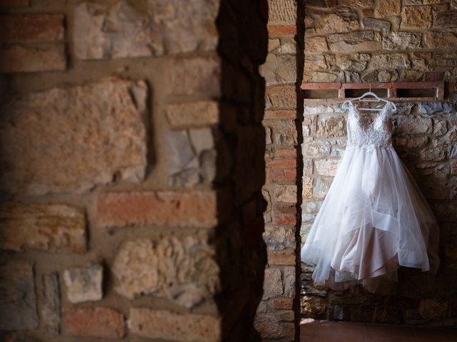 Il matrimonio di James e Alainna a Radicondoli, Siena 11