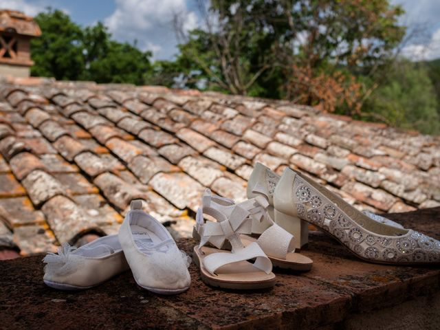 Il matrimonio di James e Alainna a Radicondoli, Siena 2