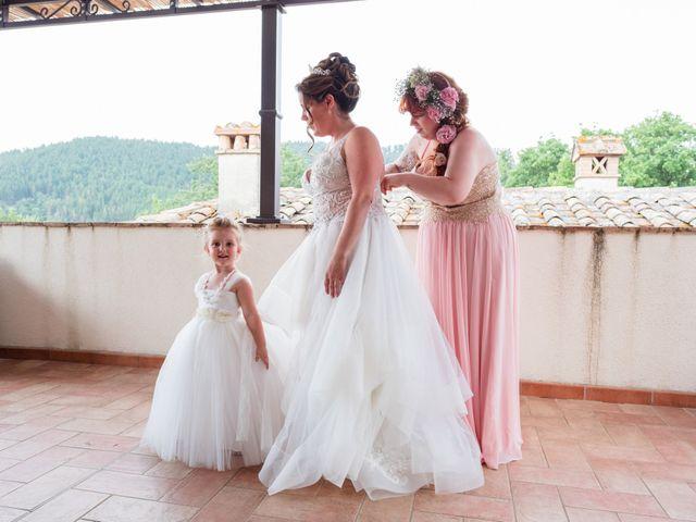 Il matrimonio di James e Alainna a Radicondoli, Siena 14