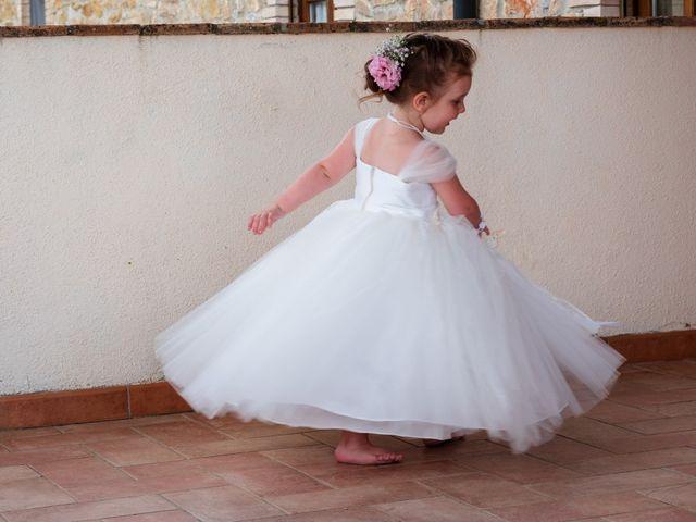 Il matrimonio di James e Alainna a Radicondoli, Siena 28
