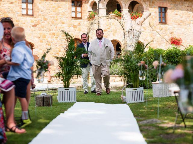Il matrimonio di James e Alainna a Radicondoli, Siena 29