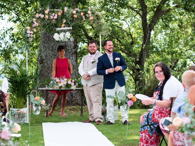 Il matrimonio di James e Alainna a Radicondoli, Siena 30