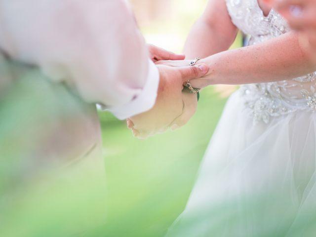 Il matrimonio di James e Alainna a Radicondoli, Siena 37