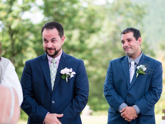 Il matrimonio di James e Alainna a Radicondoli, Siena 38
