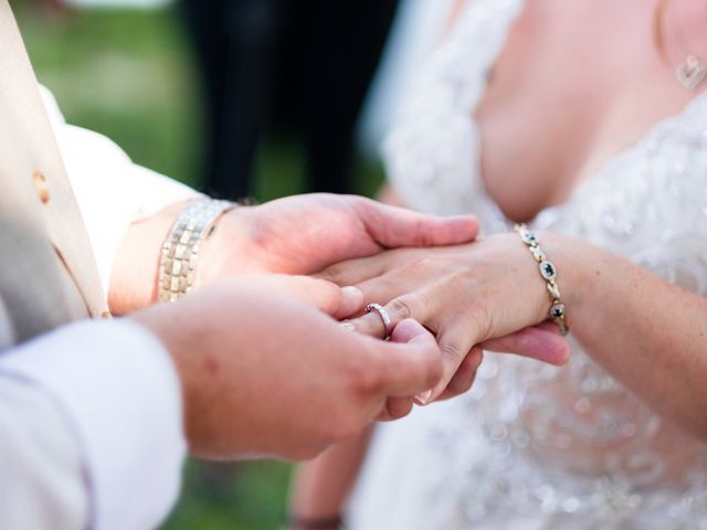 Il matrimonio di James e Alainna a Radicondoli, Siena 41
