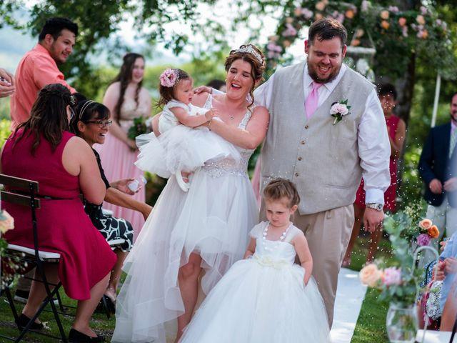 Il matrimonio di James e Alainna a Radicondoli, Siena 43