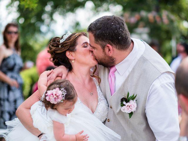 Il matrimonio di James e Alainna a Radicondoli, Siena 44