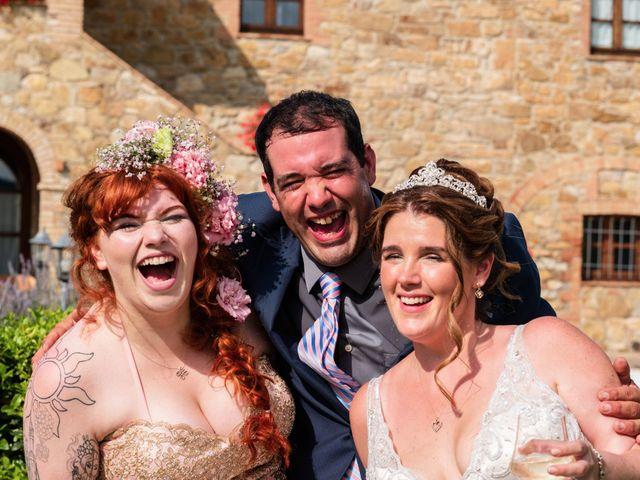 Il matrimonio di James e Alainna a Radicondoli, Siena 46