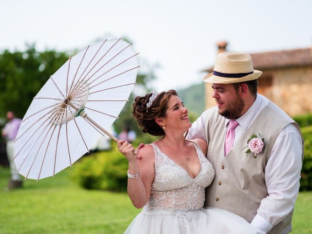Il matrimonio di James e Alainna a Radicondoli, Siena 47