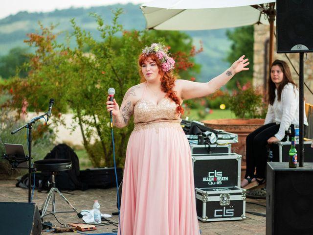 Il matrimonio di James e Alainna a Radicondoli, Siena 50