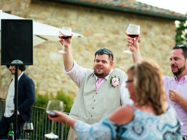 Il matrimonio di James e Alainna a Radicondoli, Siena 52