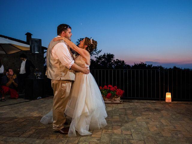 Il matrimonio di James e Alainna a Radicondoli, Siena 62