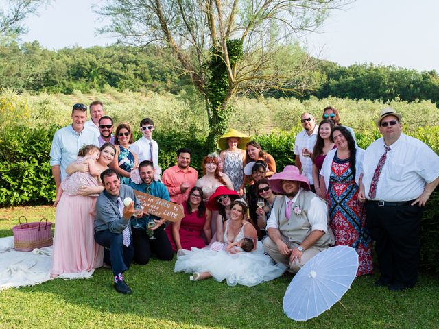 Il matrimonio di James e Alainna a Radicondoli, Siena 63