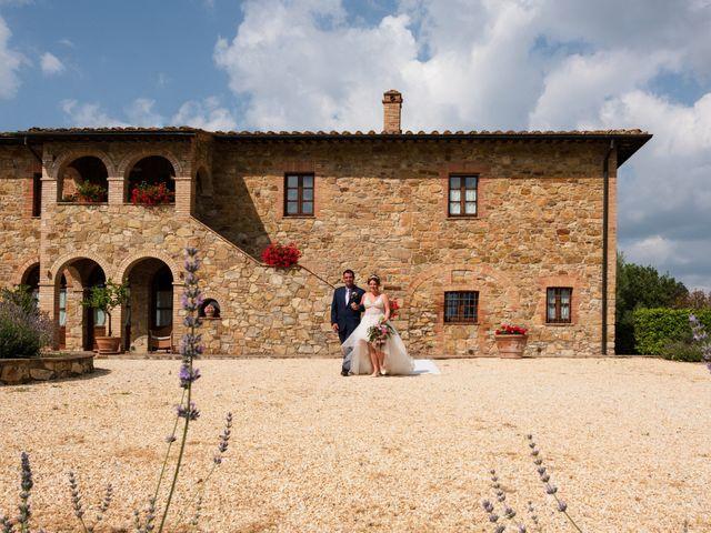 Il matrimonio di James e Alainna a Radicondoli, Siena 64