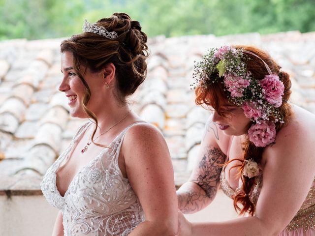 Il matrimonio di James e Alainna a Radicondoli, Siena 65
